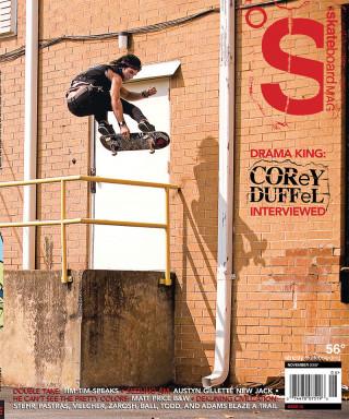 covers - The Skateboard Mag, November 2008