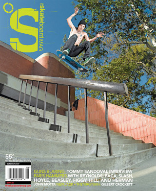 covers - The Skateboard Mag, October 2008