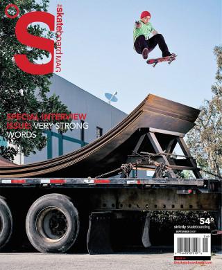covers - The Skateboard Mag, September 2008
