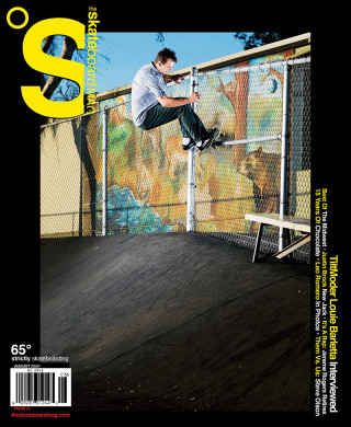covers - The Skateboard Mag, August 2009