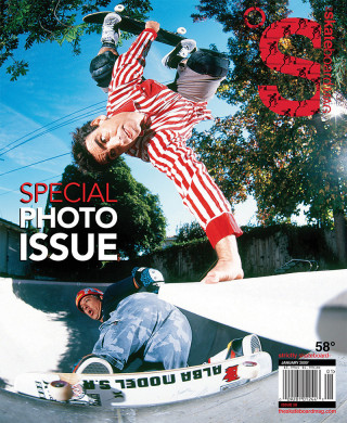 covers - The Skateboard Mag, January 2009
