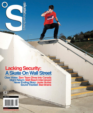 covers - The Skateboard Mag, June 2009
