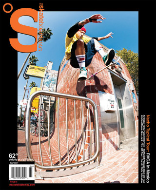 covers - The Skateboard Mag, May 2009