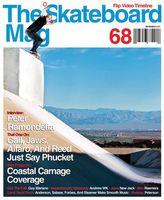covers - The Skateboard Mag, November 2009