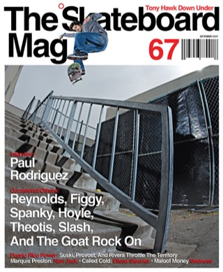 covers - The Skateboard Mag, October 2009