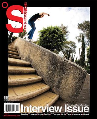 covers - The Skateboard Mag, September 2009