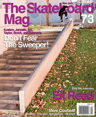 covers - The Skateboard Mag, April 2010