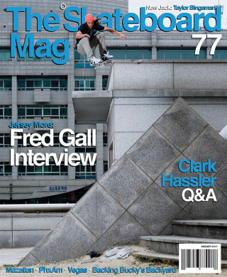 covers - The Skateboard Mag, August 2010