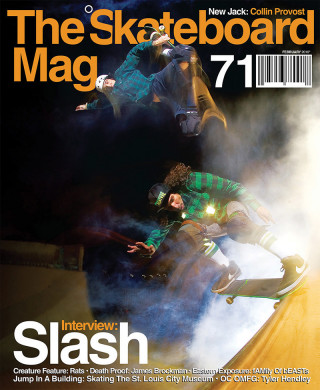 covers - The Skateboard Mag, February 2010