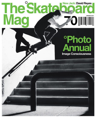 covers - The Skateboard Mag, January 2010