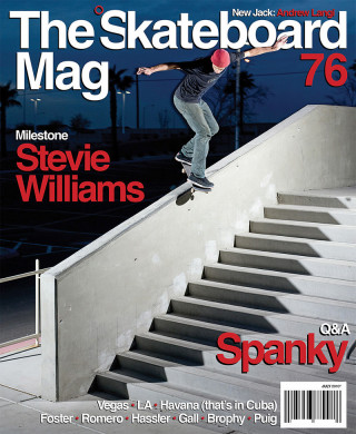 covers - The Skateboard Mag, July 2010
