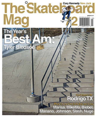 covers - The Skateboard Mag, March 2010