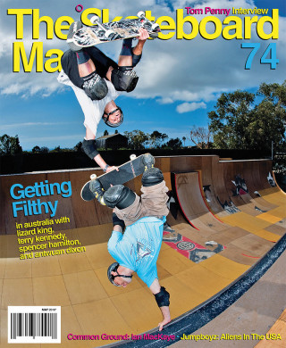 covers - The Skateboard Mag, May 2010