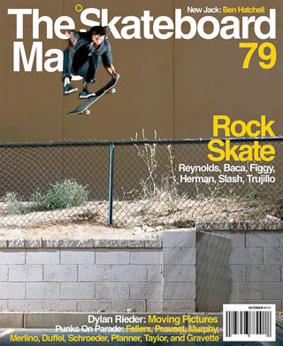 covers - The Skateboard Mag, October 2010