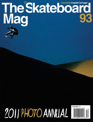 covers - The Skateboard Mag, December 2011