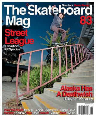 covers - The Skateboard Mag, February 2011