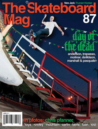 covers - The Skateboard Mag, June 2011