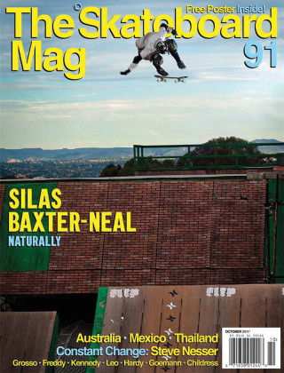 covers - The Skateboard Mag, October 2011