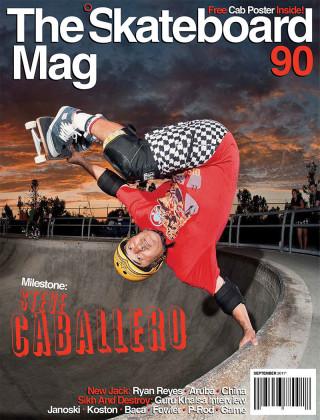 covers - The Skateboard Mag, September 2011