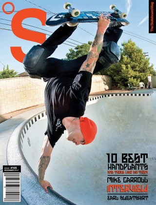 covers - The Skateboard Mag, December 2012