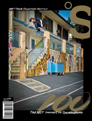 covers - The Skateboard Mag, July 2012