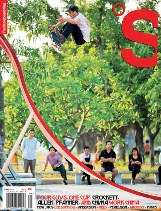 covers - The Skateboard Mag, June 2012