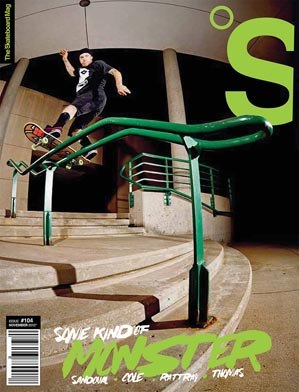 covers - The Skateboard Mag, November 2012