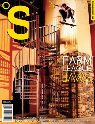 covers - The Skateboard Mag, October 2012