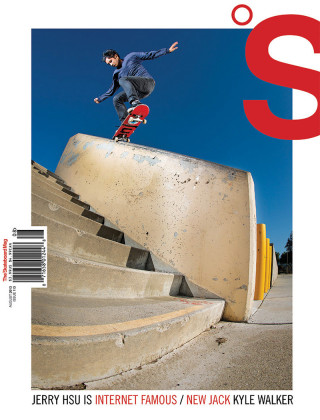 covers - The Skateboard Mag, August 2013