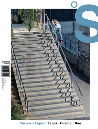covers - The Skateboard Mag, December 2013