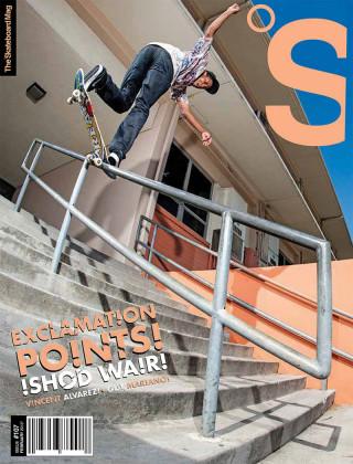 covers - The Skateboard Mag, February 2013
