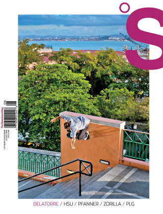 covers - The Skateboard Mag, August 2014
