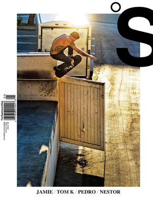 covers - The Skateboard Mag, January 2014