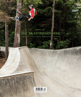 covers - The Skateboard Mag, April 2016