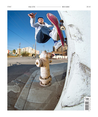 covers - The Skateboard Mag, May 2016