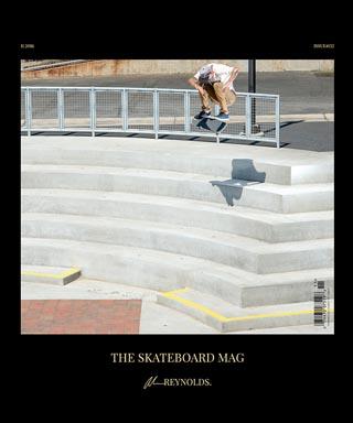 covers - The Skateboard Mag, November 2016