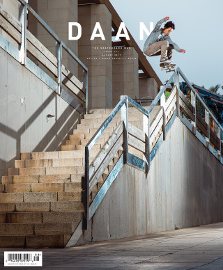 covers - The Skateboard Mag, August 2017