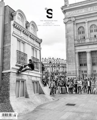 covers - The Skateboard Mag, September 2017