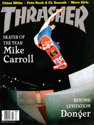 covers - Thrasher, March 1995