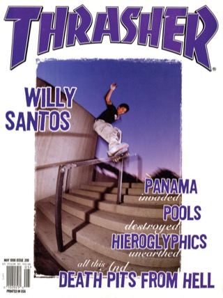 covers - Thrasher, May 1998