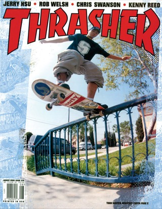 covers - Thrasher, August 2000