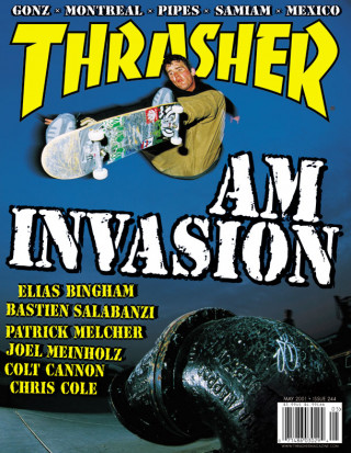 covers - Thrasher, May 2001