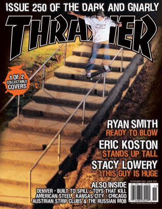 covers - Thrasher, November 2001