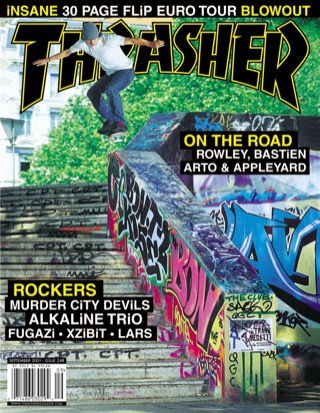 covers - Thrasher, September 2001