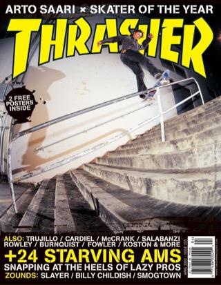 covers - Thrasher, April 2002
