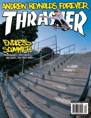 covers - Thrasher, December 2002