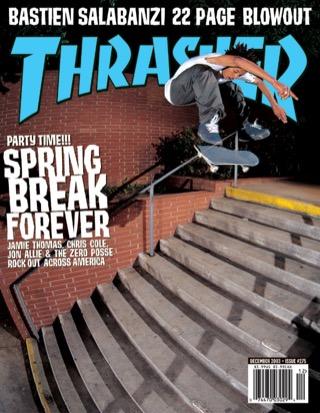 covers - Thrasher, December 2003