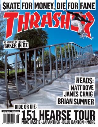 covers - Thrasher, June 2003