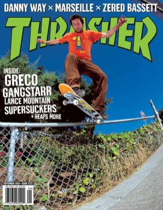 covers - Thrasher, September 2003