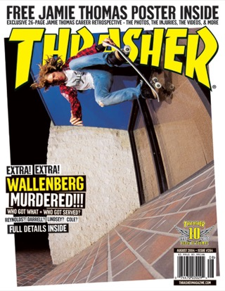 covers - Thrasher, August 2004